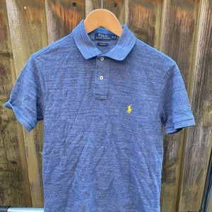 Blue Polo collard shirt